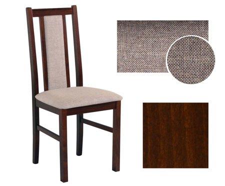 krzesło drewniane ASTER orzech